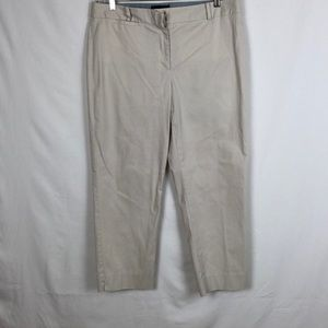 Talbots Cropped Pant